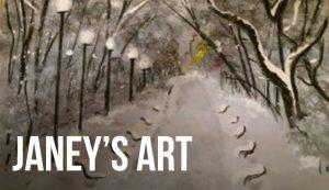 Janey Godley's Art