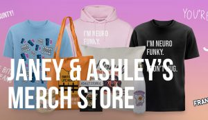Janey & Ashley Godley Merchandise featuring Honey the Dug