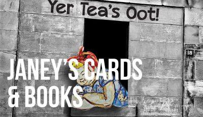 Janey Godley's Cards & Books