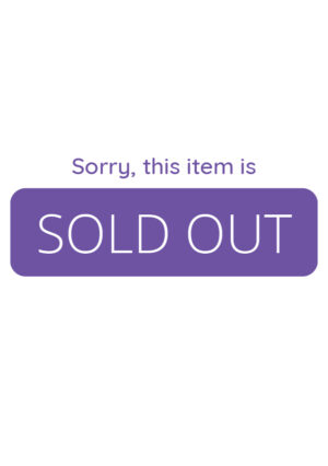 Sorry, this item is sold out