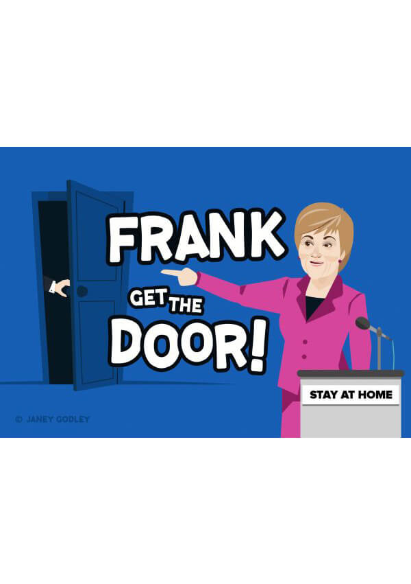 Frank Get The Door Card